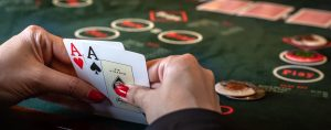 Do this in a losing position to play online poker